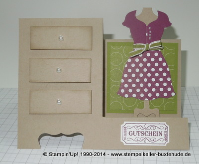 Framelits Dress up Big Shot stampin'Up!