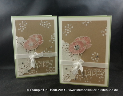 Stampin'Up! Embossing Happy Watercolor