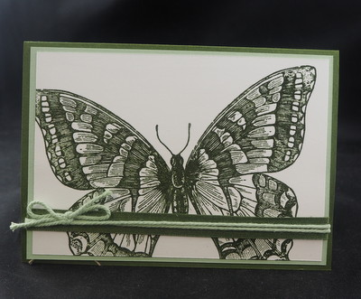 Stampin'Up! Swallowtail Waldmoss In Color