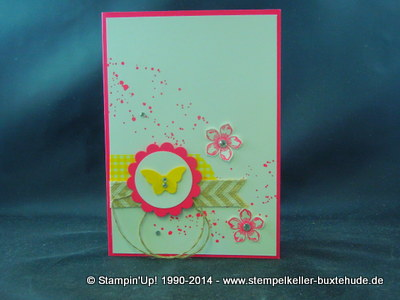 Stampin'Up! Embossing Gartenparty