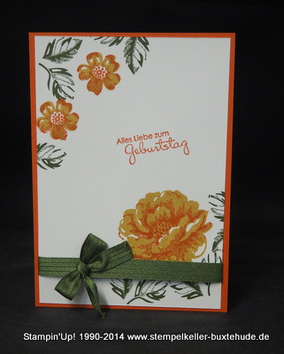 Stempelset Stippled Blossoms, In Color Stampin'Up!