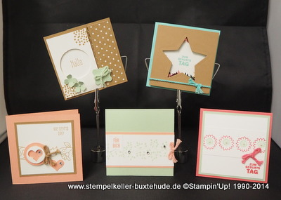 Stempelset Bordering Blooms Stampin'Up1