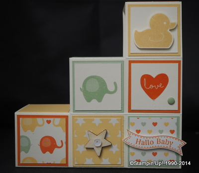 Stampin'Up! Karte Project Life Kleine Momente