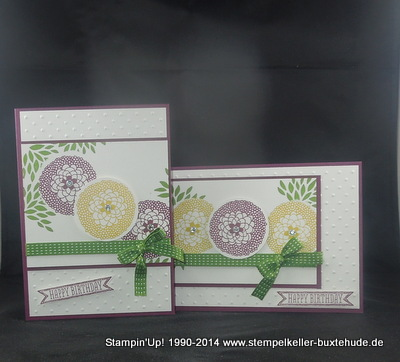 Stampin'Up! Sale-a-Bration 2014